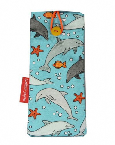 Selina-Jayne Dolphins Limited Edition Designer Soft Glasses Case